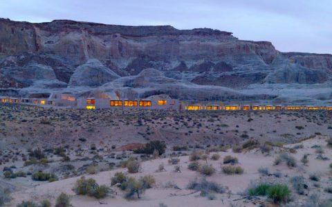 Hotel Amangiri v americkom Utahu – splní váš sen o pokoji