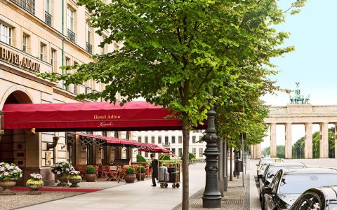 Legenda v srdci historického Berlína – Hotel Adlon Kempinski